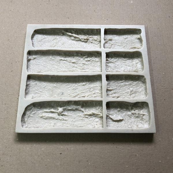 Готовая форма для изготовления кирпича Старый кирпич Угол составной F050D