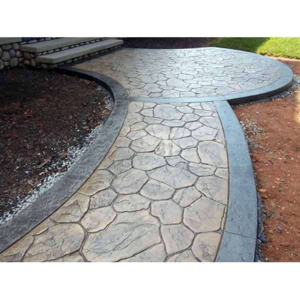 Штамп для печатного бетона Рваный камень F3011С