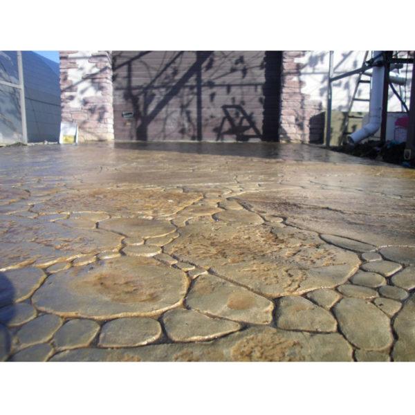 Готовый штамп для декоративного бетона Садовый камень F3131
